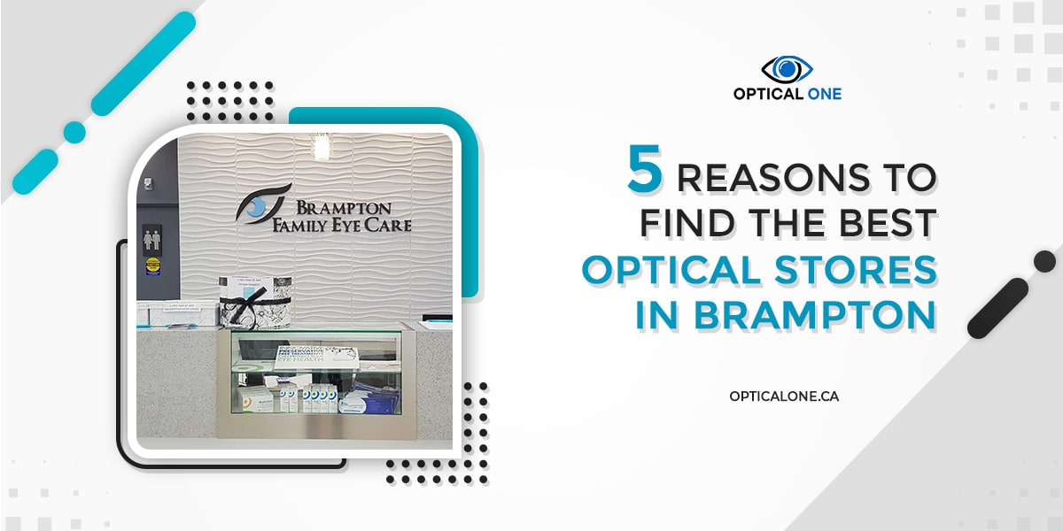 Best Optical Stores In Brampton-optical one